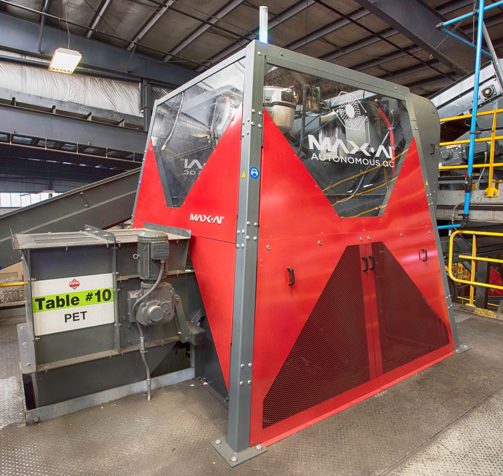 Max-AI AQC at Penn Waste MRF