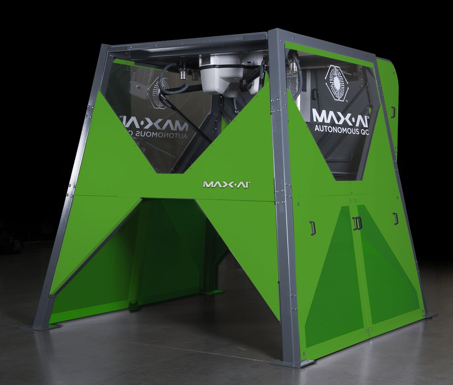 Max-AI AQC Green Recycling First in UK Max-AI