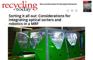 RecyclingToday Max-AI Optical