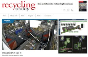 Recycling Today Evolution Max-AI
