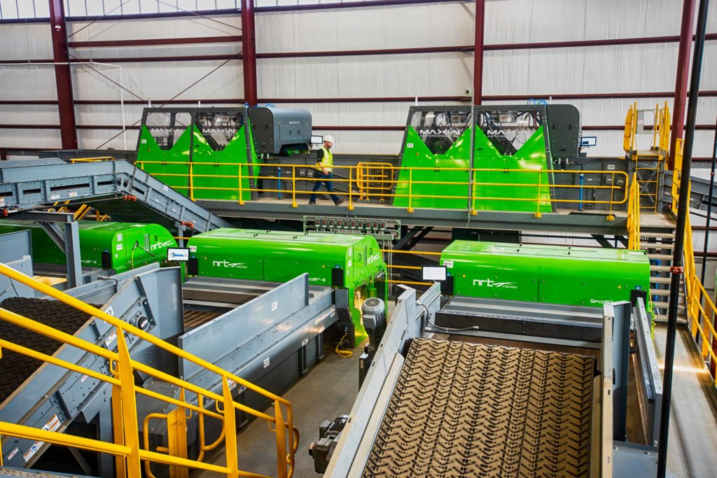 RePower South Starts up Advanced Recycling System Automated Fiber Recovery