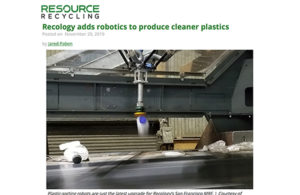Resource-recycling.com Max-AI Robot Article